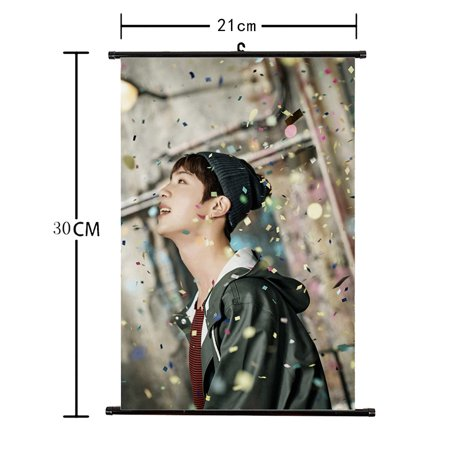 Fancyleo Kpop BTS Bangtan Boys You Never Walk Alone Poster Wall Scroll Hanging Paintings for A.R.M.Y](Home Alone Poster)