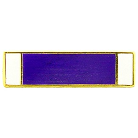 Purple Heart Ribbon Pin 11/16