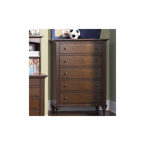 Liberty Furniture 277-BR40 Abbott Ridge Kids Five Drawer Chest by Liberty Furniture
