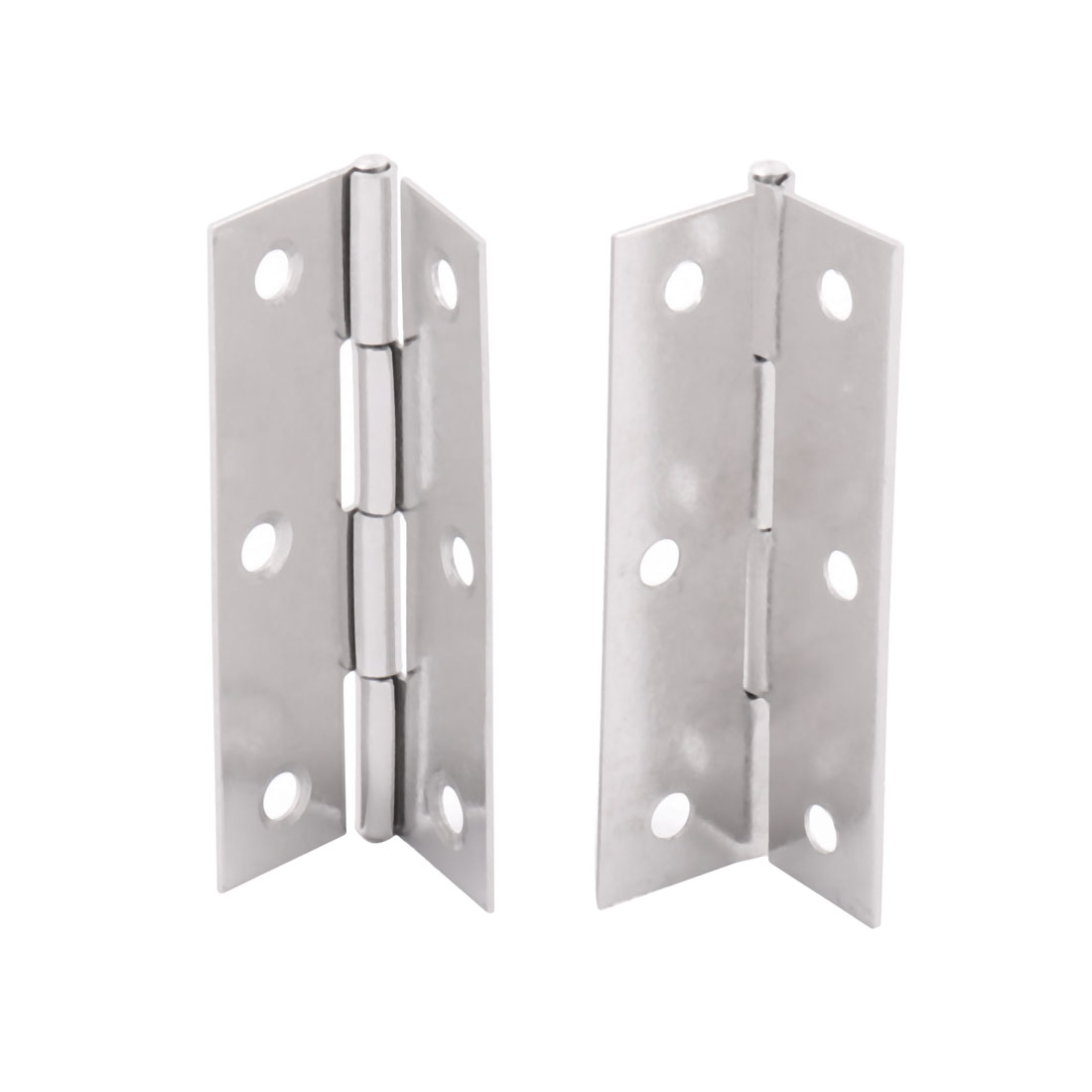 uxcell Cabinet Gate Closet Door 3-inch Long Stainless Steel Hinge 4pcs