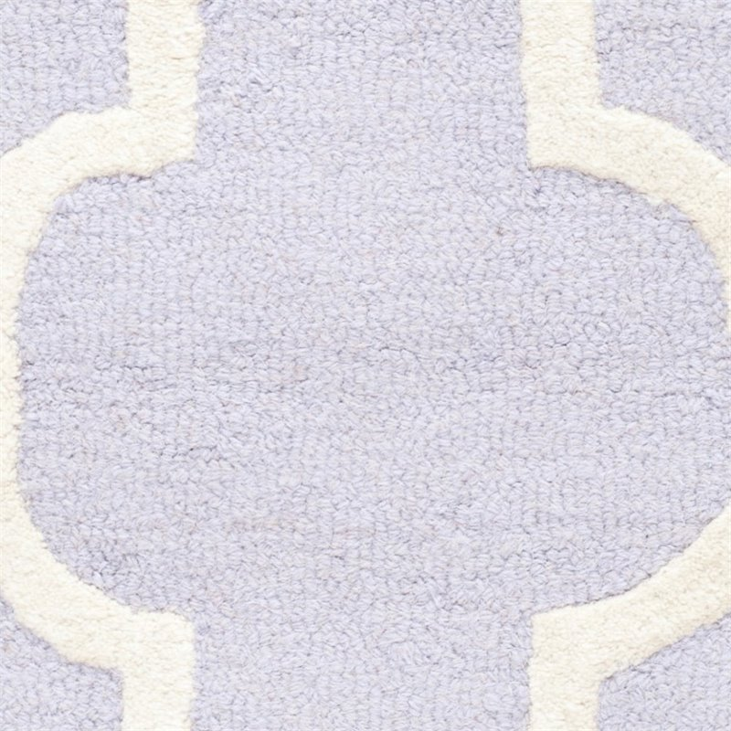 "Safavieh Cambridge 2'6"" X 12' Hand Tufted Wool Rug - image 5 of 10"