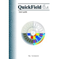 QuickField 6.4 User's Guide: QuickField is a user friendly and powerful Finite Element Analysis package for electromagnetic, heat transfer and stress analysis simulations. (Paperback)