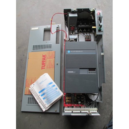 New Allen Bradley 1336VT-B005-EAN-S1 5 HP Variable Torque AC Drive MCC Bucket