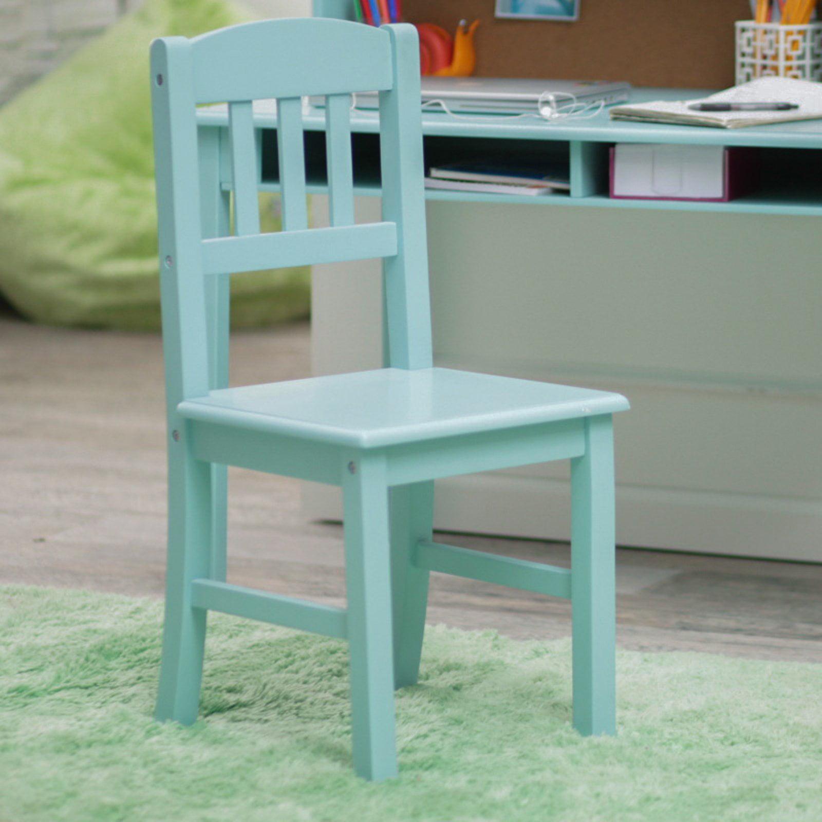 Guidecraft Media Desk & Chair Set - Teal - Walmart.com