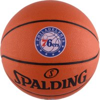 Philadelphia 76ers Spalding Official Size Logo Basketball