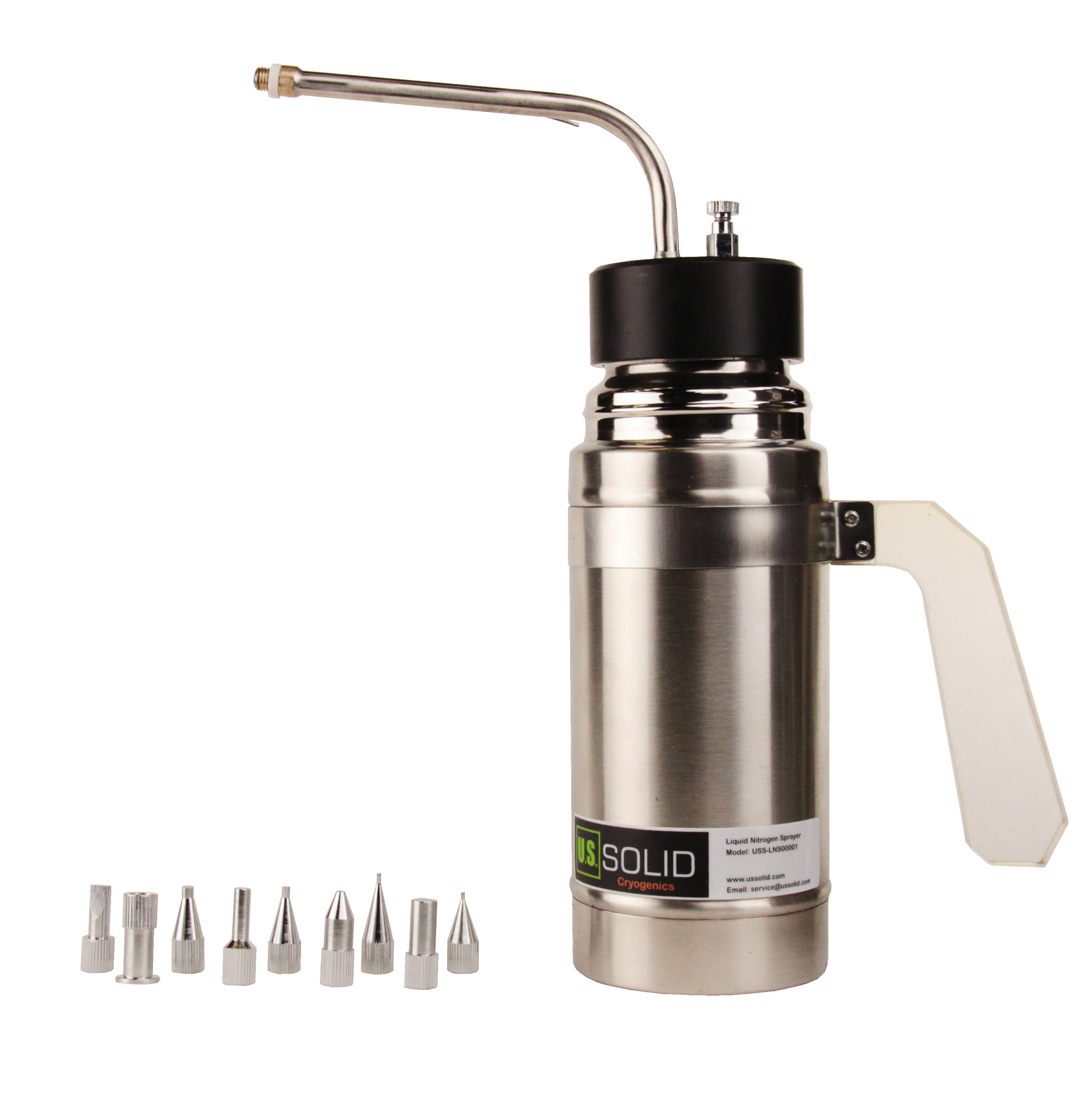 Liquid Nitrogen (LN2) Sprayer Freeze Treatment Instrument Unit 500ml (16oz.) from U.S.... by U.S. SOLID