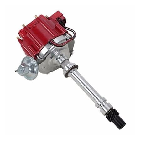 A-Team Performance WOW $49.99 SBC BBC Small Big Block Chevy Electronic HEI Distributor Red (Performance Electronics 2006 Chevy)