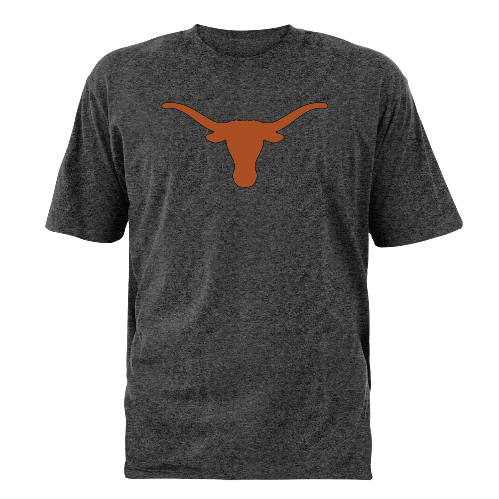 Men's Charcoal Texas Longhorns Static Silhouette T-Shirt