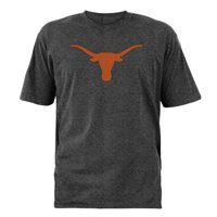 Product Image Men s Charcoal Texas Longhorns Static Silhouette T-Shirt 9563729a3c