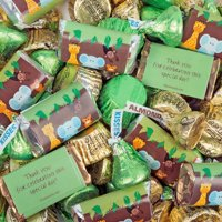 Baby Shower Candy 3lb - Jungle Animals Themed Hershey's Chocolate