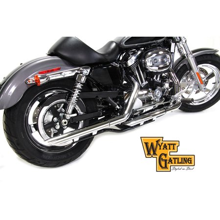 Wyatt Gatling Exhaust Pipe Extension Set,for Harley Davidson,by