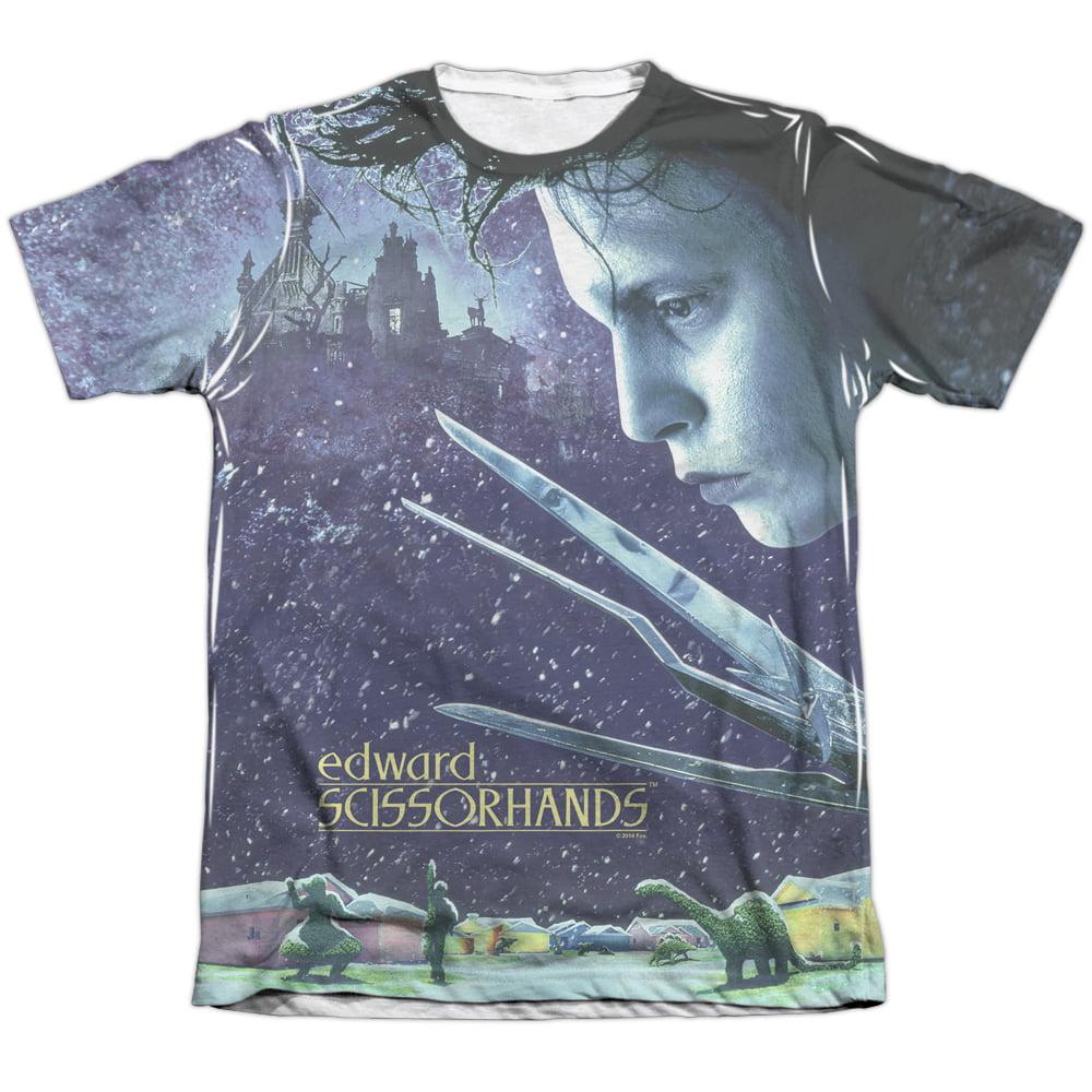 Edward Scissorhands Movie SNOWY NIGHT Licensed Adult T-Shirt All Sizes