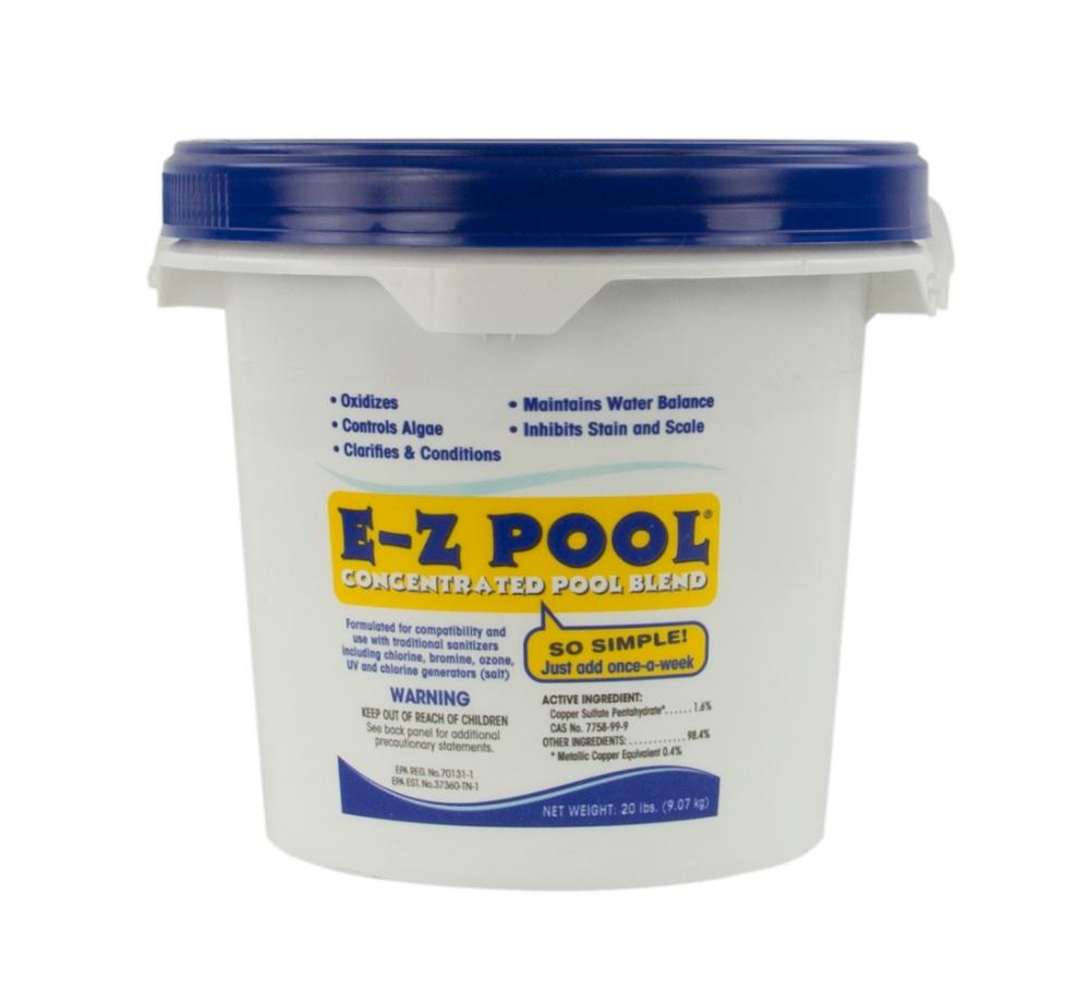 E-Z Swimming Pool Soft & Swim Chemical Controls Algae & Calcium Scaling-40