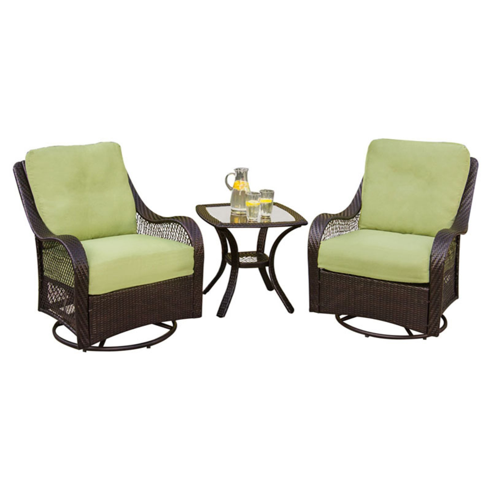 Hanover Orleans 3-Piece Outdoor Lounging Set