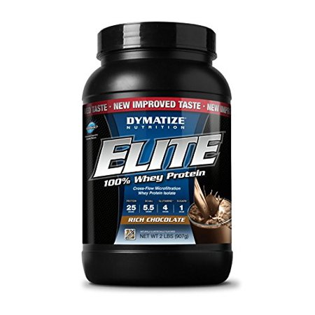 Dymatize Nutrition Elite Whey Shake, Rich Chocolate, 2