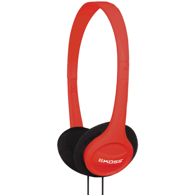 50 Pack Koss 190494 KPH7 On-Ear Headphones (Red) by Koss