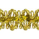 Expo Int'l Sheba Diamond Sequin Braid Trim by the (Diamond Braid)