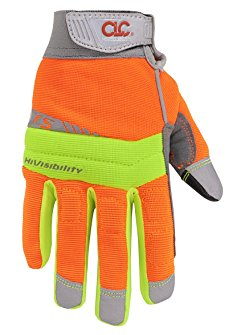 CLC Work Gear 128X Extra Large Flex Grip HiVisibility Gloves by Custom Leathercraft