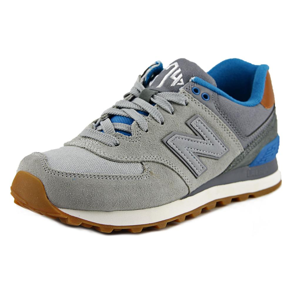 New Balance WL574 Women Suede Fashion Sneakers by New Balance