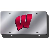 NCAA Wisconsin Laser Tag License Plate