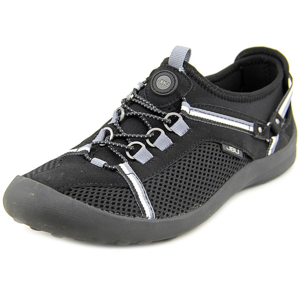 Jambu Nepal Women Black  Round Toe Synthetic Black Women Walking Shoe 1273b5