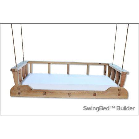 Swing Beds 1800 Crb Nat 1800s Crib Bed Natural