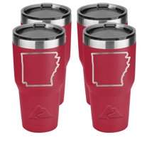 Ozark Trail 30-Ounce Double-Wall, Vacuum-Sealed Stainless Steel Tumbler