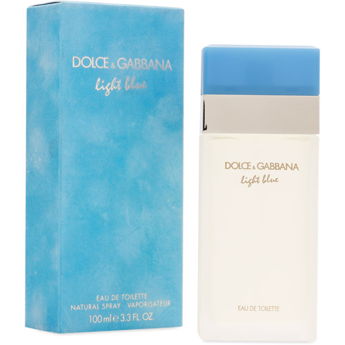 Dolce & Gabbana Light  Blue Fragrance for Women, size 3.3oz