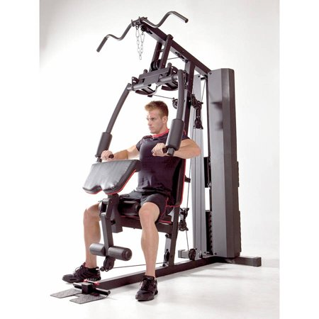 Marcy Stack Dual Function Home Gym – 200 lb. Stack