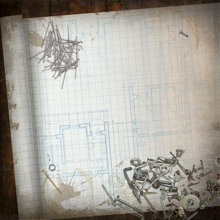 Blueprint paper 12x12 walmart blueprint paper 12x12 malvernweather Images