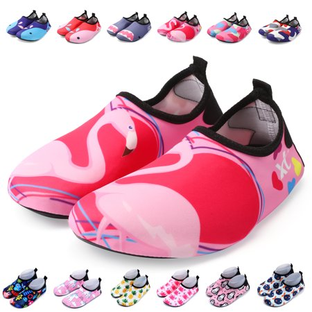 b3c27fa3a5 Kids Water Shoes -Bridawn Barefoot Shoes Toddler Swim Shoes Quick Dry  Non-Slip Barefoot Aqua Socks for Boys & Girls