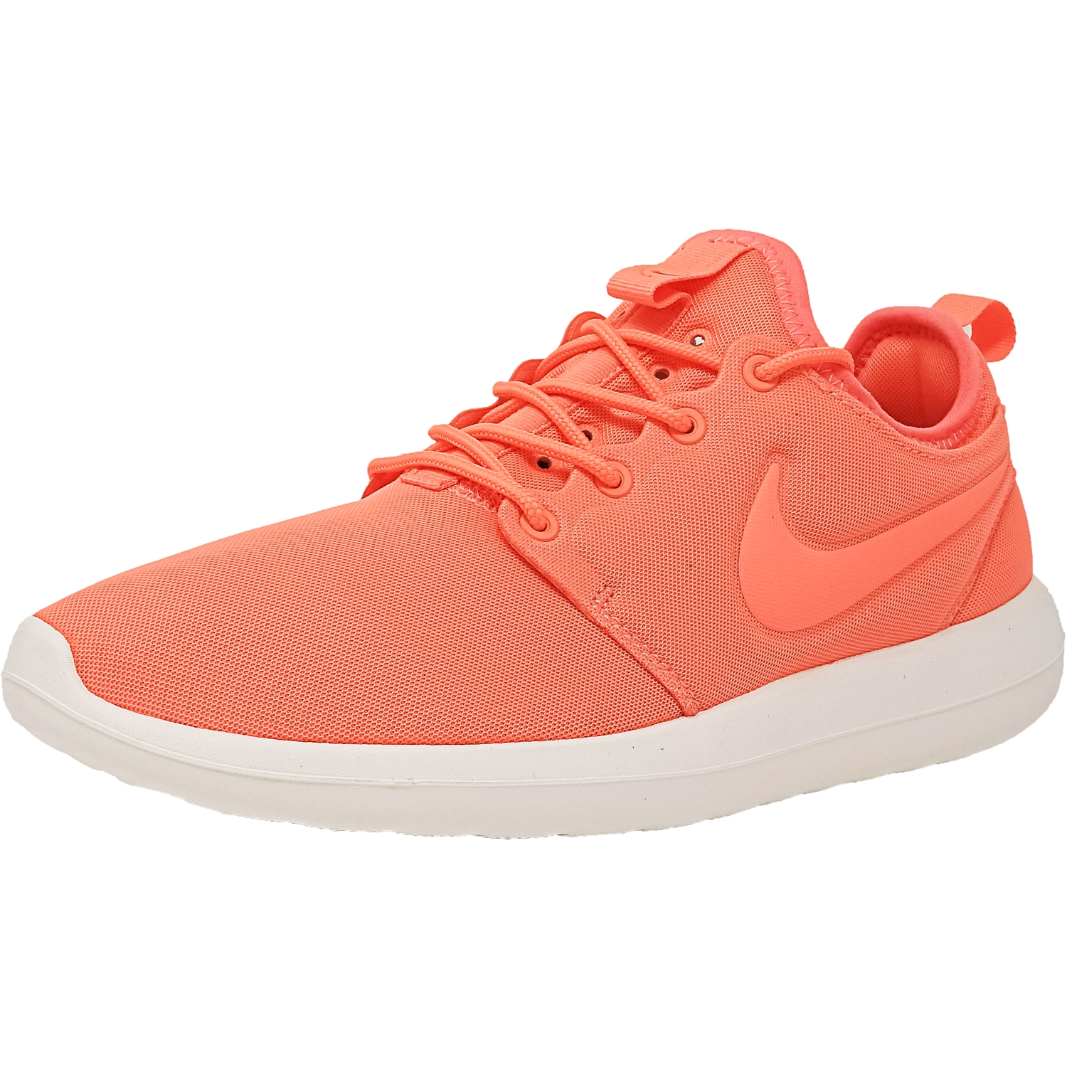 separation shoes 98933 1c0a8 Nike Women s Roshe Two White   White-Pure Platinum Ankle-High Running Shoe  - 10M