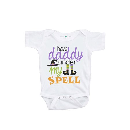 Halloween Parties In My Area (Custom Party Shop Baby's Daddy's Under My Spell Halloween Onepiece - 6-12 Month)