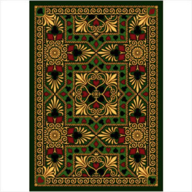 Joy Carpets Jackpot 7 ft9 inch 100 Pct.  STAINMASTER Nylon Machine Tufted- Cut Pil