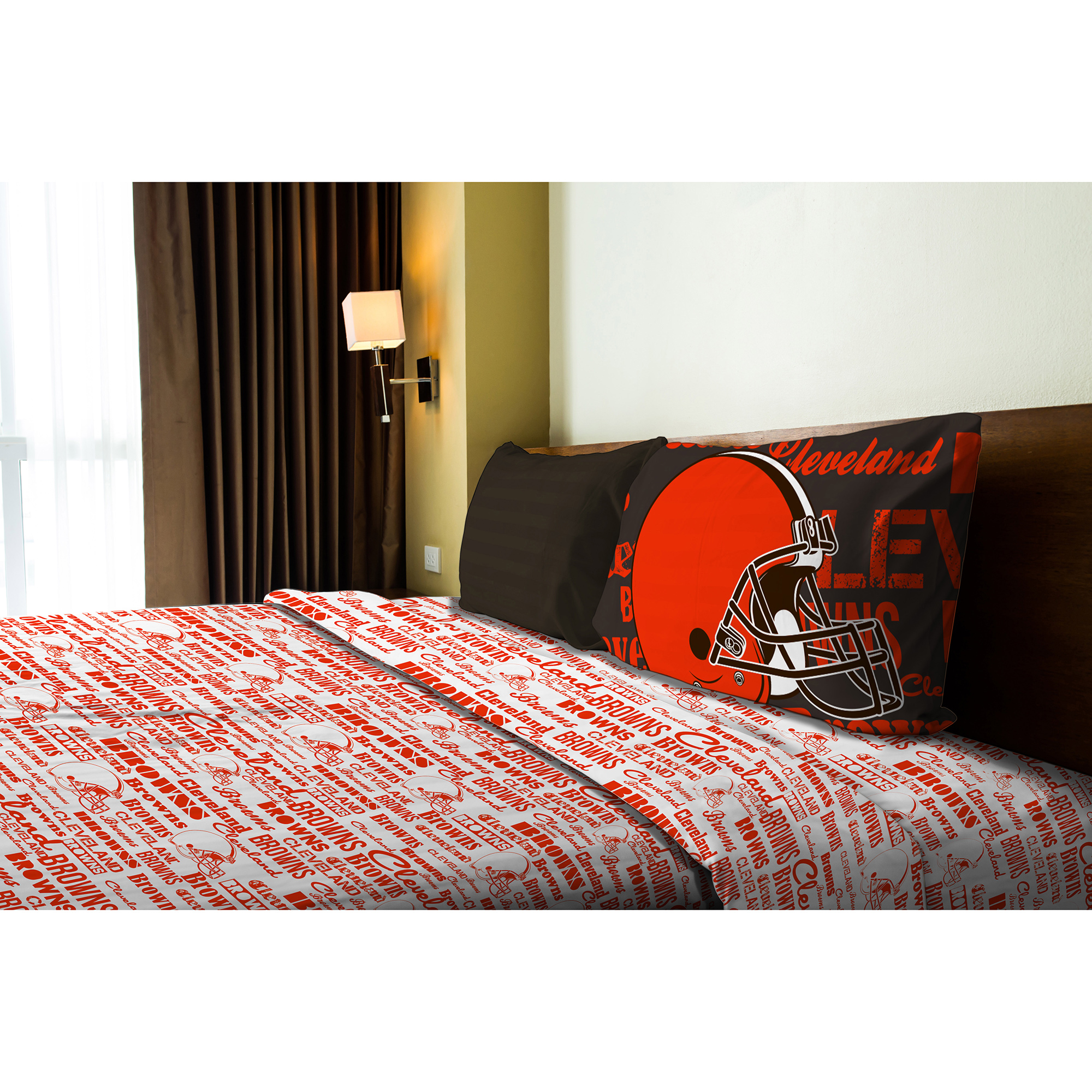 Cleveland Browns The Northwest Company Twin Sheet Set - No Size