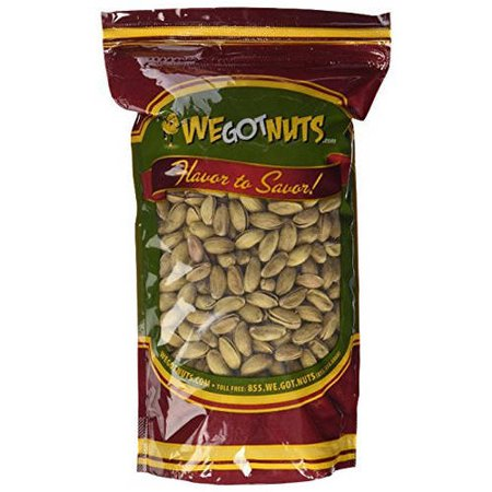 Salted California Pistachios - We Got Nuts Antep Roasted Salted Turkish in Shell Pistachios, 7 lbs
