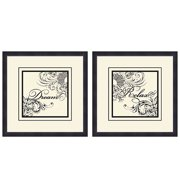Dream and Relax Wall Décor, Set of 2