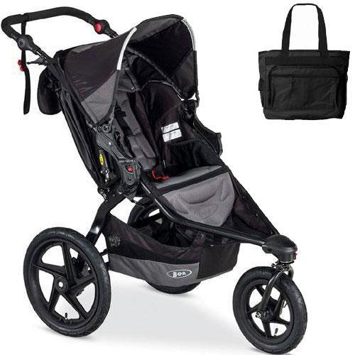 BOB - Revolution FLEX Stroller with Bag - Black Black