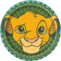 Lion King Paper Dinner Plates, 9in, 24ct