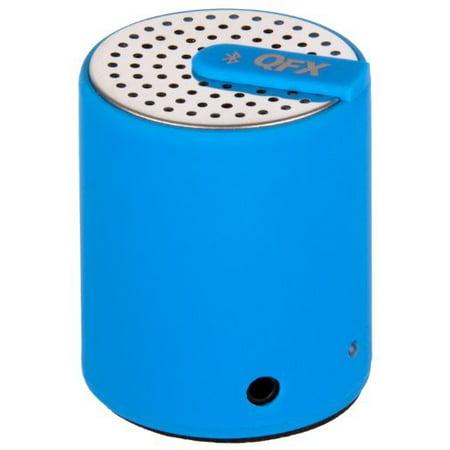 QFX CS-27BTBL Portable Bluetooth Speaker with AUX-In - Blue - image 1 de 1