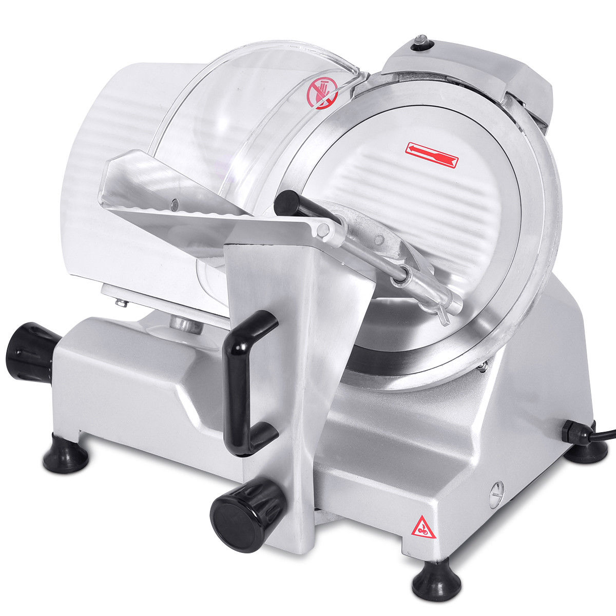 "Costway 10"" Blade Commercial Meat Slicer Deli Meat Cheese Food Slicer Industrial Quality"