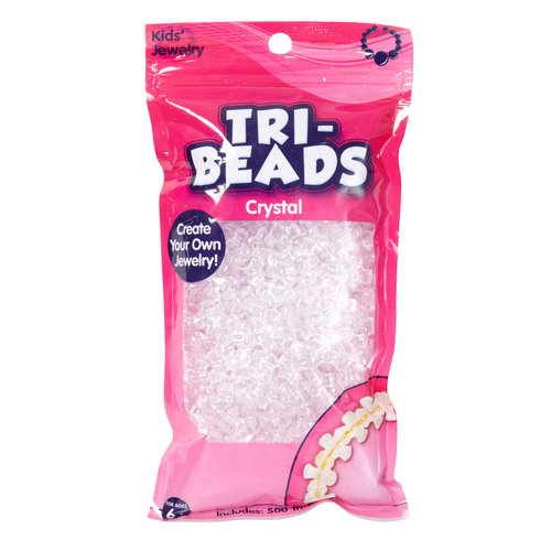Kids Craft Tri-Beads, Crystal