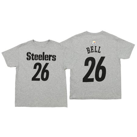 97f134b5 Outerstuff NFL Youth Pittsburgh Steelers Le'Veon Bell #26 Mainliner Tee -  Walmart.com