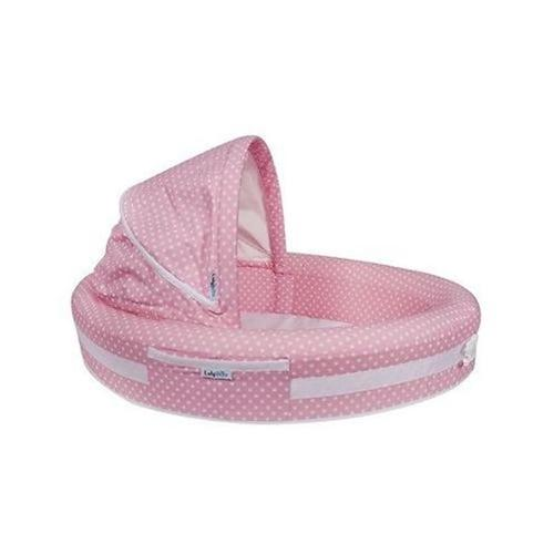 Baby Lounge to-go pink dots