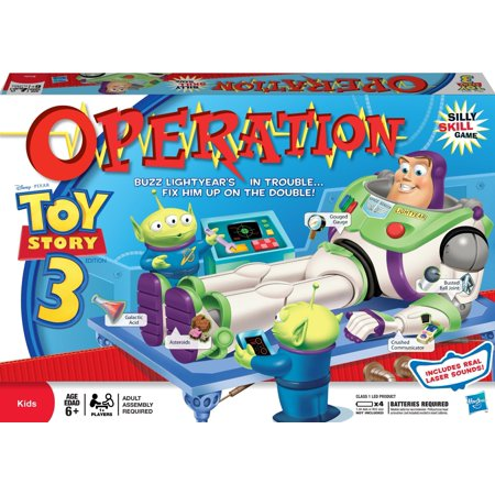 Toy Story 3 Halloween Games (Toy Story 3 Operation)