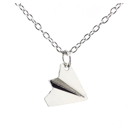 One Direction Harry's Style Paper Airplane Pendant Necklace, One Direction Paper Airplane Pendant Necklace By (Airplane Pendant Jewelry)