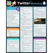 BarCharts 9781423225997 Twitter Marketing Quickstudy Easel