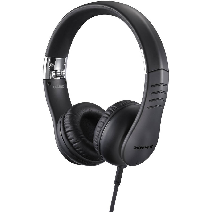 Casio XW-H1 Over Ear Headphones, Black by Casio