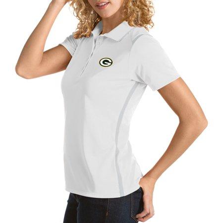 Antigua - Antigua Women s Green Bay Packers Merit White Xtra-Lite ... 005f38213