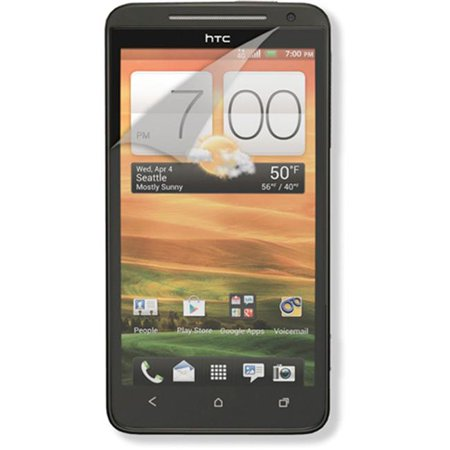 RND Accessories 3 Screen Protector Anti-Fingerprint & Anti-Glare With Lint Cleaning Cloths For HTC EVO 4G LTE- Matte Finish